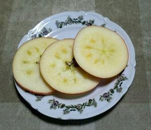 リンゴの切り方